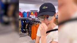 Thalía se mete de incógnito a una tienda para espiar a quienes compran su ropa