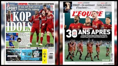 Así despiertan este viernes 26 de junio los principales diarios deportivos en Europa.