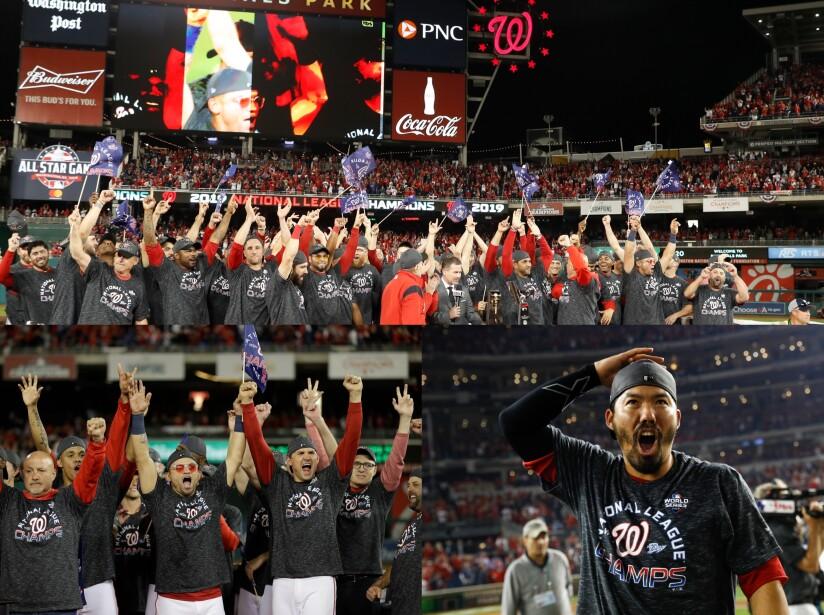 Washington Nationals jugarán por primera vez la Serie Mundial.