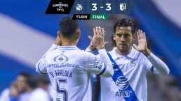 Resumen | Puebla y Querétaro dividen unidades con feria de goles