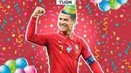 Debido al cumpleaños de CR7 recordamos su único gol a un club mexicano