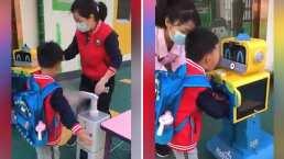 Mira como regresan al kinder los niños de China después de cuarentena