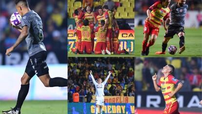 En feria de goles el Necaxa se impone 2-3 al Morelia y se pone de superlíder del Apertura 2019.