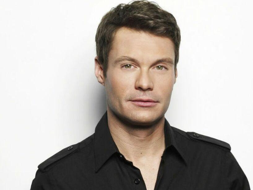 10. Ryan Seacrest: El conductor de American Idol nunca se ha declarado gay, sin embargo los rumores corren...