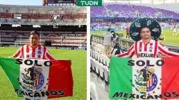 Polémico mensaje de aficionado de Chivas