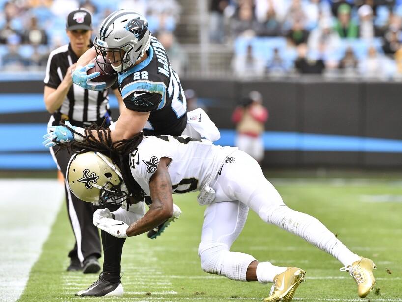 New Orleans Saints vCarolina Panthers