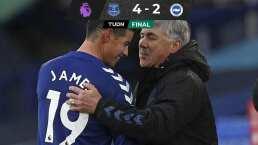 James sigue encendido con el Everton