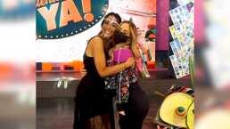 Andrea Legarreta y Cynthia Urías causan furor al revelar su estrecha amistad