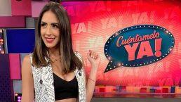 Cynthia Urías aparece sorpresivamente en traje de baño durante transmisión en vivo