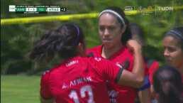 ¡No perdona! Renae Cuéllar empareja el marcador 1-1 ante América
