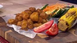RECETA: ¡Bolitas de pollo a la BBQ!