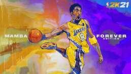 Videojuego honra a Kobe Bryant en portada de NBA 2K21