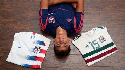 Nicolás Carrera, juvenil de Dallas FC, eligió a Estados Unidos en categoría Sub-17 pero aún deberá escoger qué selección mayor representará.