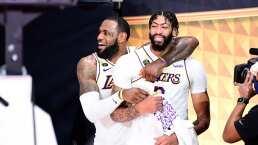 Anthony Davis quiere seguir jugando con LeBron James