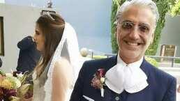El conmovedor baile entre Alejandro Fernández y Camila, en el día de su boda