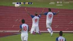 Con todo y polémica Gabriel Torres abre el marcador ante Bermudas