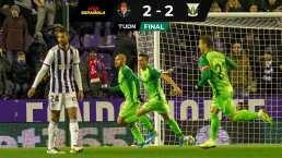 ¡Sufrido empate! Leganés sacó un punto ante Valladolid