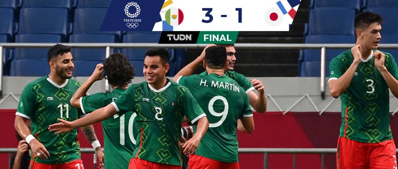 México 3-1 Japón, partido por el bronce: resultado, goles y resumen    Juegos Olímpicos   TUDN