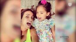 La hija de Odalys Ramírez le revela a quién de sus papás se parece más