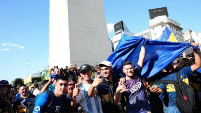 Gran ambiente en el festejo del Día del Hincha de Boca Juniors. La primera vez que se celebró fue el 12-12-12, para demostrar el orgullo de ser bostero.