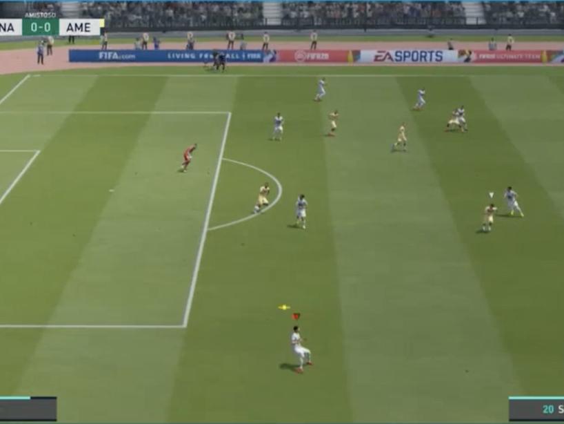 Pumas vs América, eLiga MX, 8.png