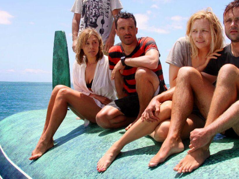 The Reef está basada en los ataques de tiburones en Australia, cuando varios amigos se ven en peligro en Sydney.