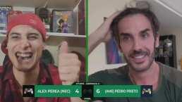 ¡Partidazo! Pedro Prieto venció 6-4 a Alex Perea en eTUDN