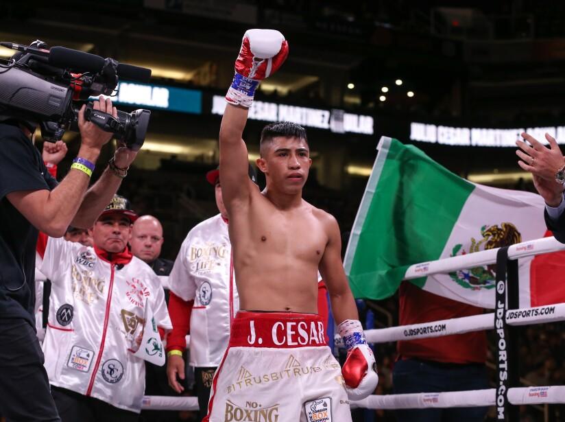 Julio César Martínez, Campeón Mundial Peso Mosca
