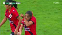¡Sorprenden con un golazo! Karen Hernández pone el 0-1 para Xolos