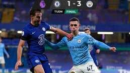 Guardiola muestra el músculo y le pega al Chelsea en Stamford Bridge