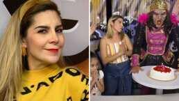 Karla Panini recrea escena de 'las niñas del pastel'; ella interpretó a la 'villana'
