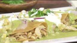 RECETA: Enchiladas poblanas