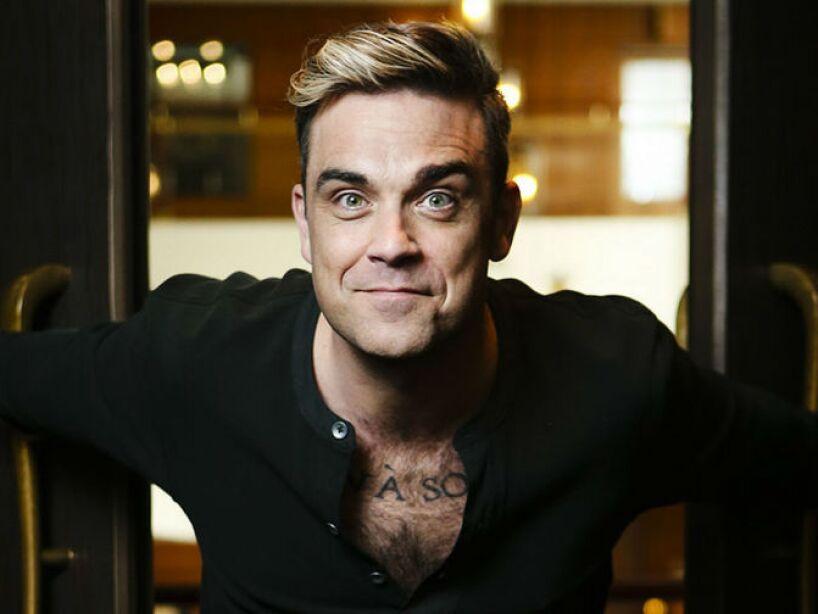 5. Robbie Williams: Le importa poco que hablen de él, aunque uno de sus representantes declaró que era homosexual.