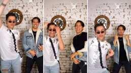 Video: Vadhir Derbez y Kunno se reúnen para regalarte candente baile en TikTok