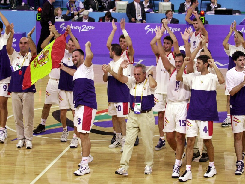 SPAIN WIN PARALYMPIC GOLD