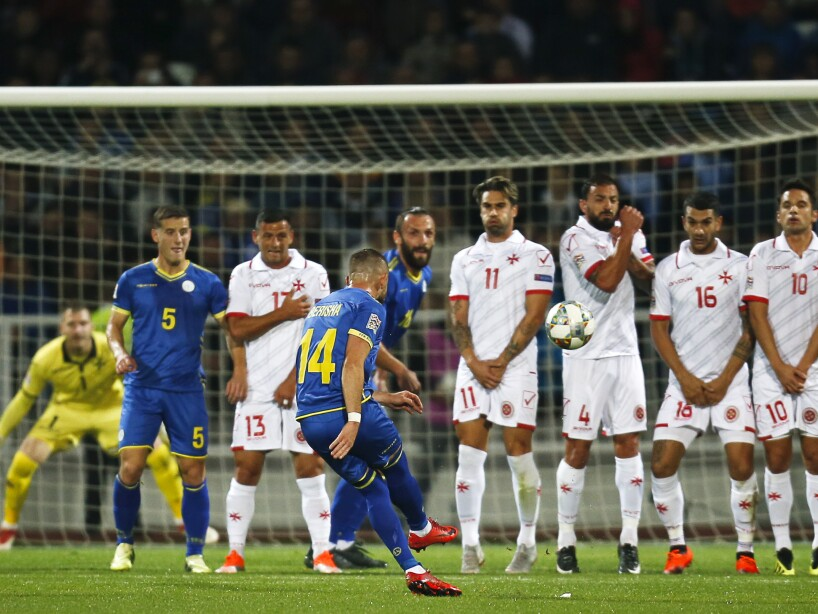 Kosovo Malta Nations League Soccer
