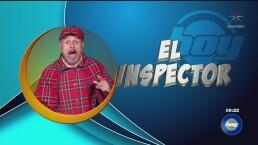 Inspector persiguió a un ciudadaño