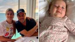 Jorge 'El Burro' Van Rankin presume lo grande que está su bebé Carlota: 'Eres preciosa'