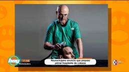 ¡Omaigá! médico busca realizar el primer trasplante de cabeza