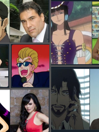 Te compartimos las imágenes del entretenimiento mexicano con un estilo manga que se convirtió en un exitoso tema en Twitter.