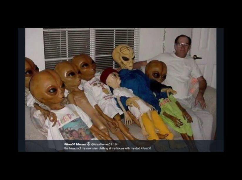 Memes de la Invasion al Área 51