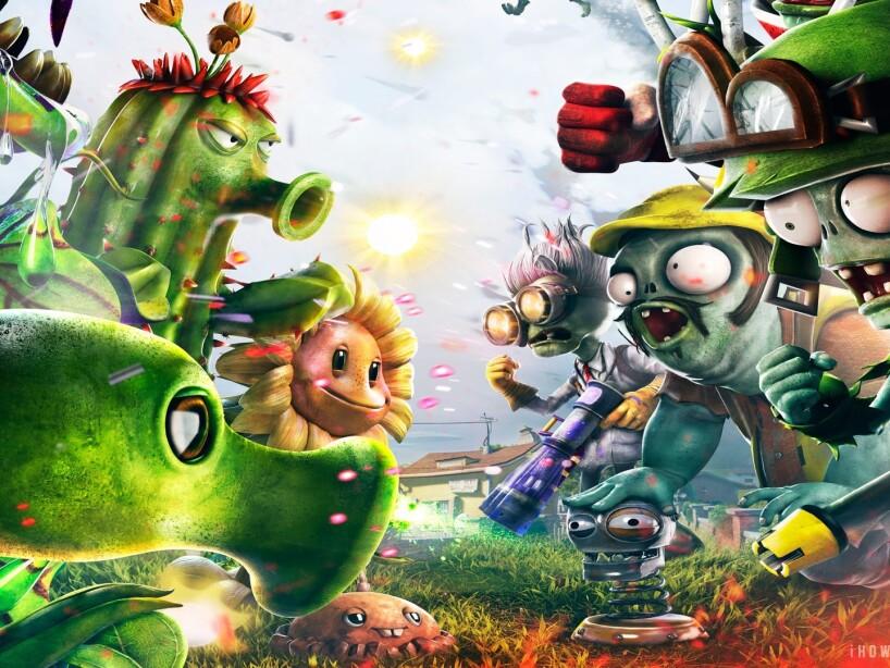 7. Plants vs Zombies: Los muertos vivientes también son populares en este divertido videojuego.