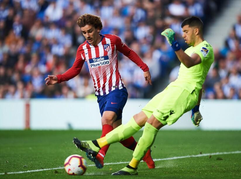 Real Sociedad v Club Atletico de Madrid - La Liga