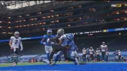 Gran pase de Drew Brees para darle la vuelta a los Lions