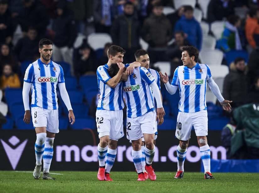 Real Sociedad v RCD Espanyol - Copa del Rey: Round of 32