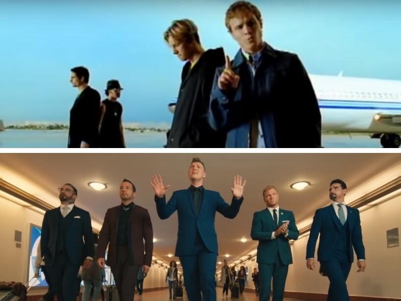 'I Want It That Way' de Backstreet Boys cumple 20 años