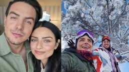 Aislinn y Vadhir Derbez se fueron a celebrar juntos el Día del Padre, pero sin su papá