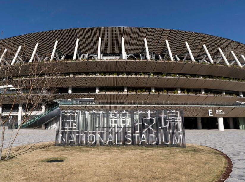 New National Stadium Media Tour