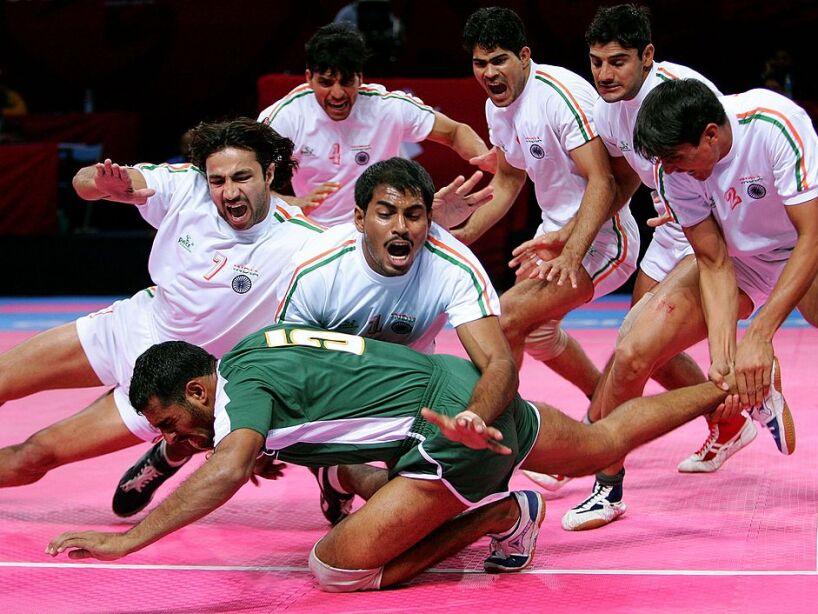 15th Asian Games Doha 2006 - Kabaddi: India v Pakistan