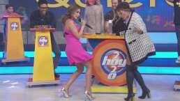 Galilea Montijo y Andrea Escalona bailan 'pasito duranguense' en este viernes de agüita de jamaica